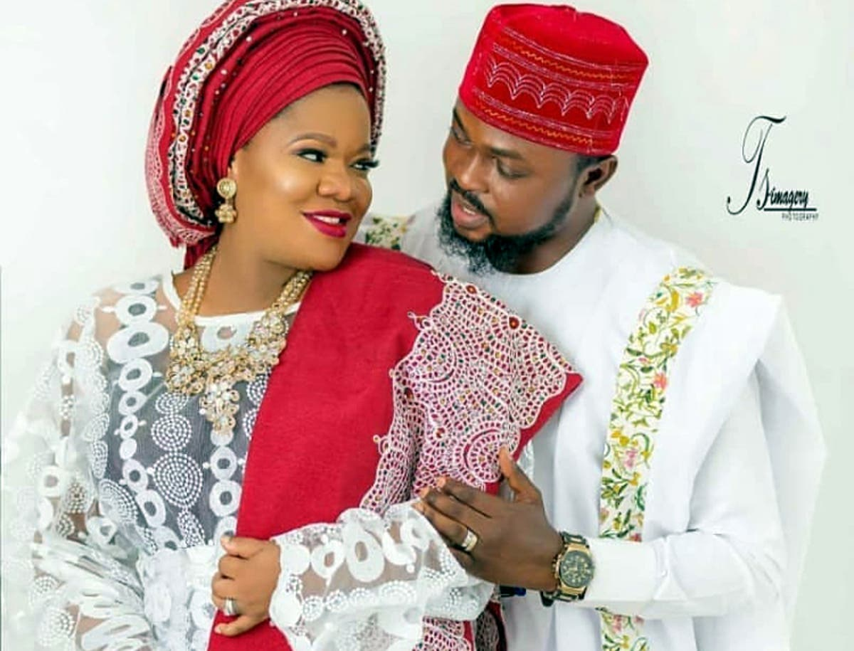Image result for Toyin Abraham remarries Ajeyemi